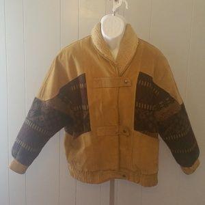 Other - Men's  Vintage Leather Coat
